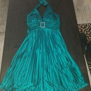 Homecoming dress teal!